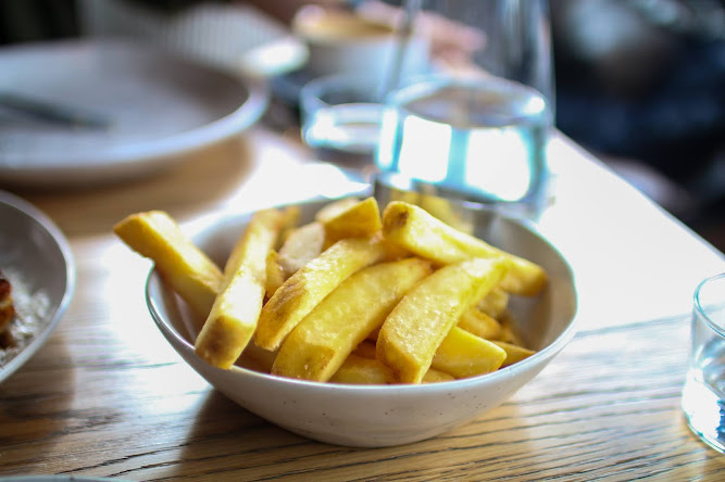 Thick Hot Chips at Acre Eatery