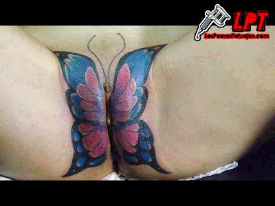 tatuaje en el coño