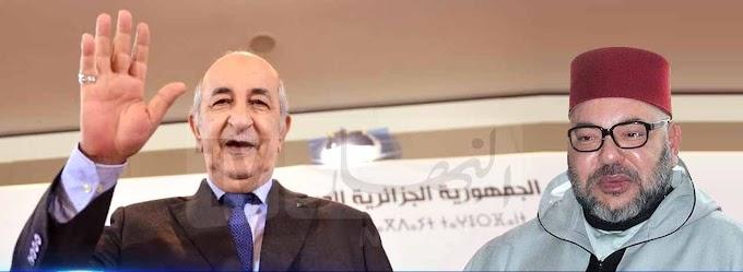 Mohamed VI felicita a Tebboune por su elección como presidente de Argelia y pide abrir nueva etapa en las relaciones Argelia-Marruecos.