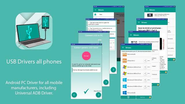 تنزيل برنامج USB Driver for Android تثبيت تطبيق برنامج تشغيل USB لجميع أنواع الأجهزة اللوحية وهواتف الاندرويد