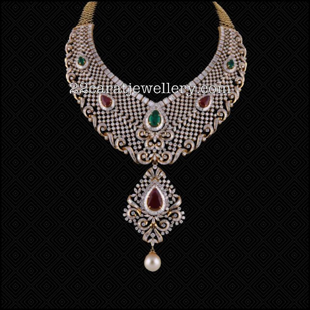 Latest Set by Satyanarayana Jewellers
