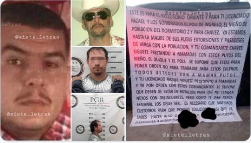 Así fue como amenazaran a El 24 el hijo de El Ondeado Manuel Torres Felix: El CJNg y La UT vs El Cártel de Sinaloa