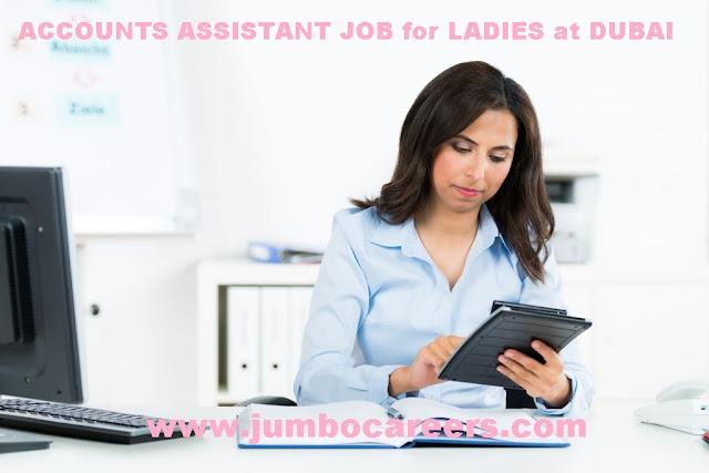 Accounts assistant salary in Dubai. Female Accounts assistant Jobs in Dubai.
