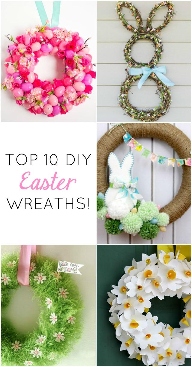 10 gorgeous diy easter wreaths - Wreath Design Ideas