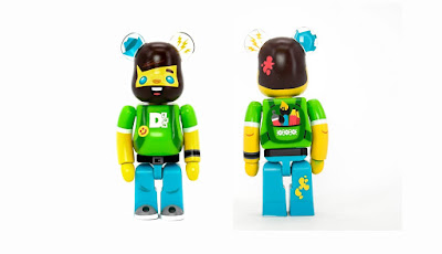 Designer Con 2019 Exclusive Vincent Be@rbrick 100% Vinyl Figure by Medicom Toy x Scott Tolleson
