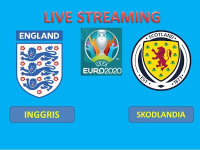 Link Live Streaming Euro 2020 INGGRIS Vs SCOTLANDIA Berlangsung Di Stadion Wembley