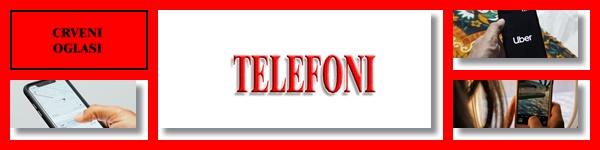 - TELEFONI - CRVENI OGLASI