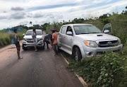 Acidente entre moto e dois carros deixa motociclista ferido na MA entre Pedreiras e Lima Campos