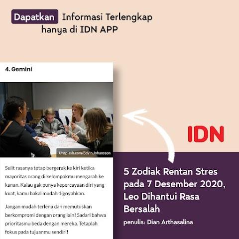 IDN App: Sumber Bacaan Informatif Dikala Waktu Luang