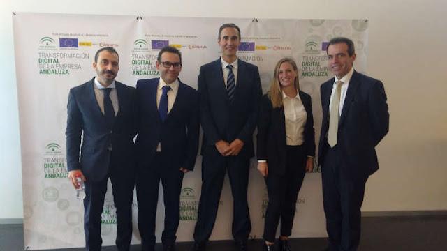 Equipo de Boxdigital en la Jornada sobre Ecommerce en Granada