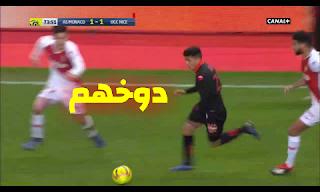 فيديو يوسف عطال يراوغ 4 لاعبين و يتحصل على ضربة جزاء