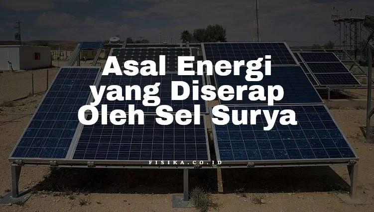 Energi yang Diserap Oleh Sel Surya
