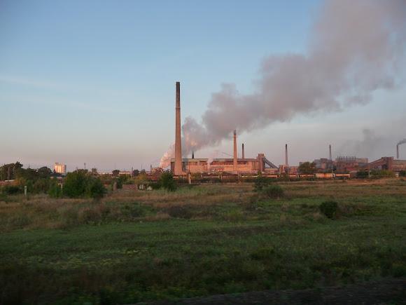 Авдіївка. Коксохімічний завод