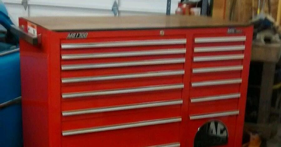 The metal shop vintage mac tool box refurbished for Mac due the box