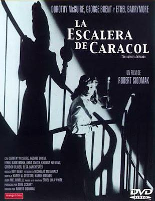 """""""La escalera de caracol"""" (Robert Siodmak, 1945)"""