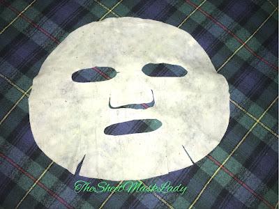 used sheet mask, sheet mask face, sheet mask lady