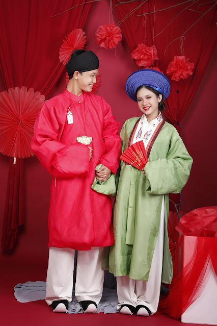 Áo cưới cổ phục việt nam