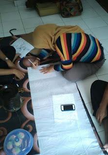 membuat pola batik tulis