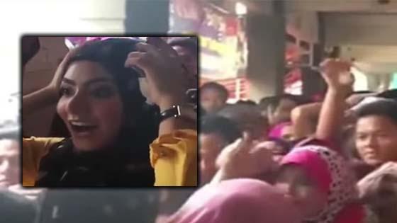 Mawar Fareeda Dikecam Kerana Aksi 'Gedik' Ketika Pelanggan Sibuk Berebut