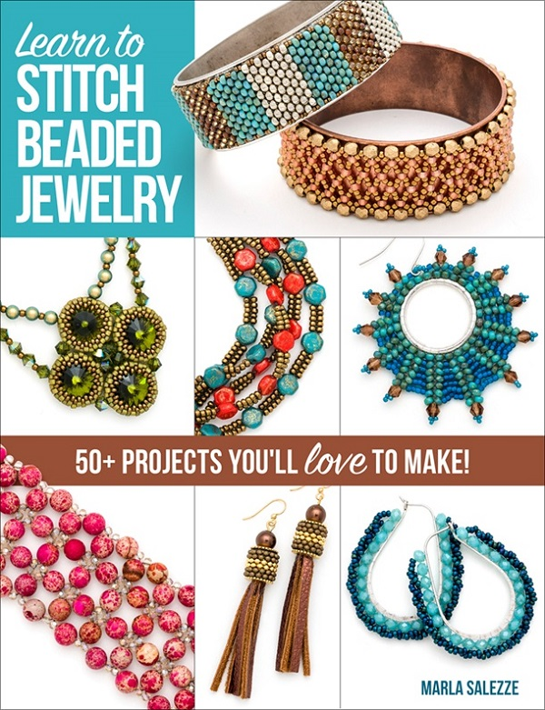 Book Review and Giveaway - Learn to Stitch Beaded Jewelry