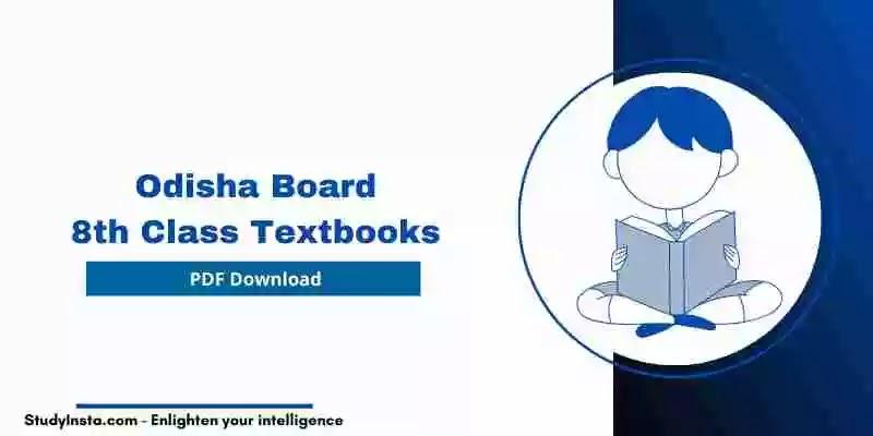 Odisha Board 8th Class Hindi Book PDF 2021