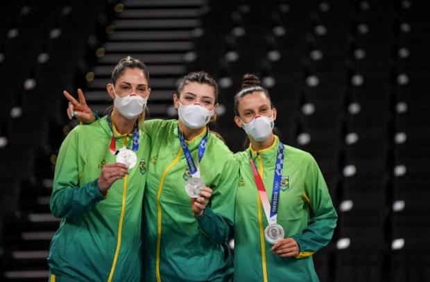 Brasil cierra Tokio 2020 con 21 medallas y 7 oros, su récord olímpico