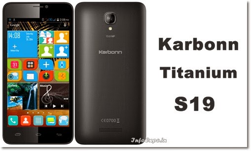 Karbonn Ttanium S19: 5-inch Android KitKat Smartphone Specs and Price