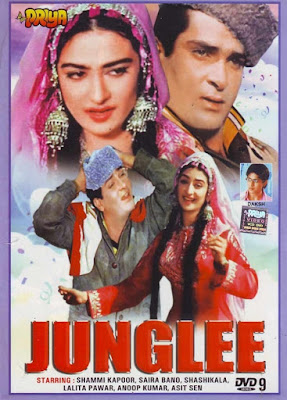 Junglee 1961 Hindi 720p DVDRip 1.5GB ESub