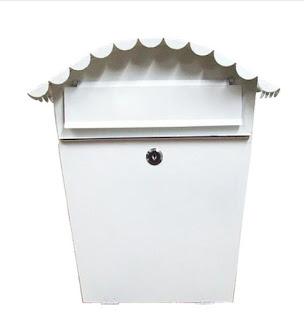 ang pao box white letter box