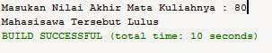 Source Java Netbean Kondisional IF Else