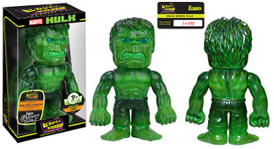 Emerald City Comicon 2016 Exclusive Mean Green Hulk Hikari Sofubi Vinyl Figure by Funko