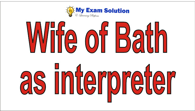 Wife of Bath as interpreter