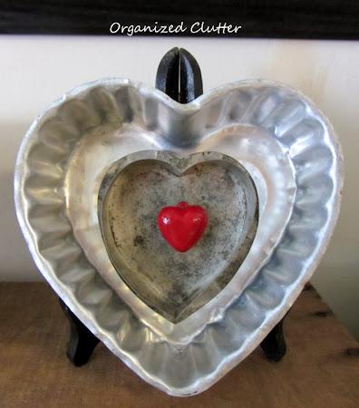 Thrift Shop Heart Valentine Decor