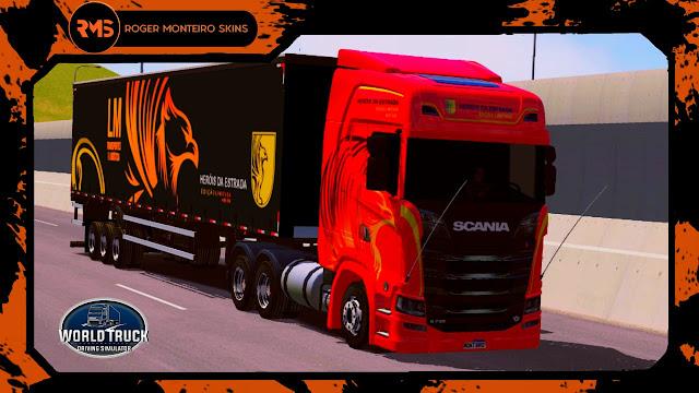 Heróis da estrada, Skins World Truck