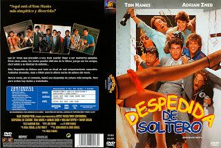 Carátula dvd: Despedida de soltero - 1984