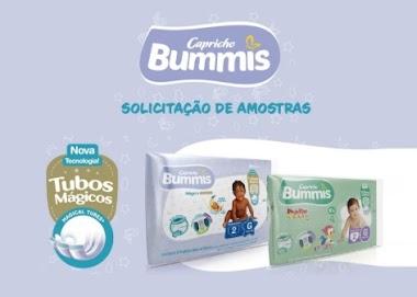 Capricho Bummis liberou um formulário para solicitar Amostras Grátis de suas Fraldas