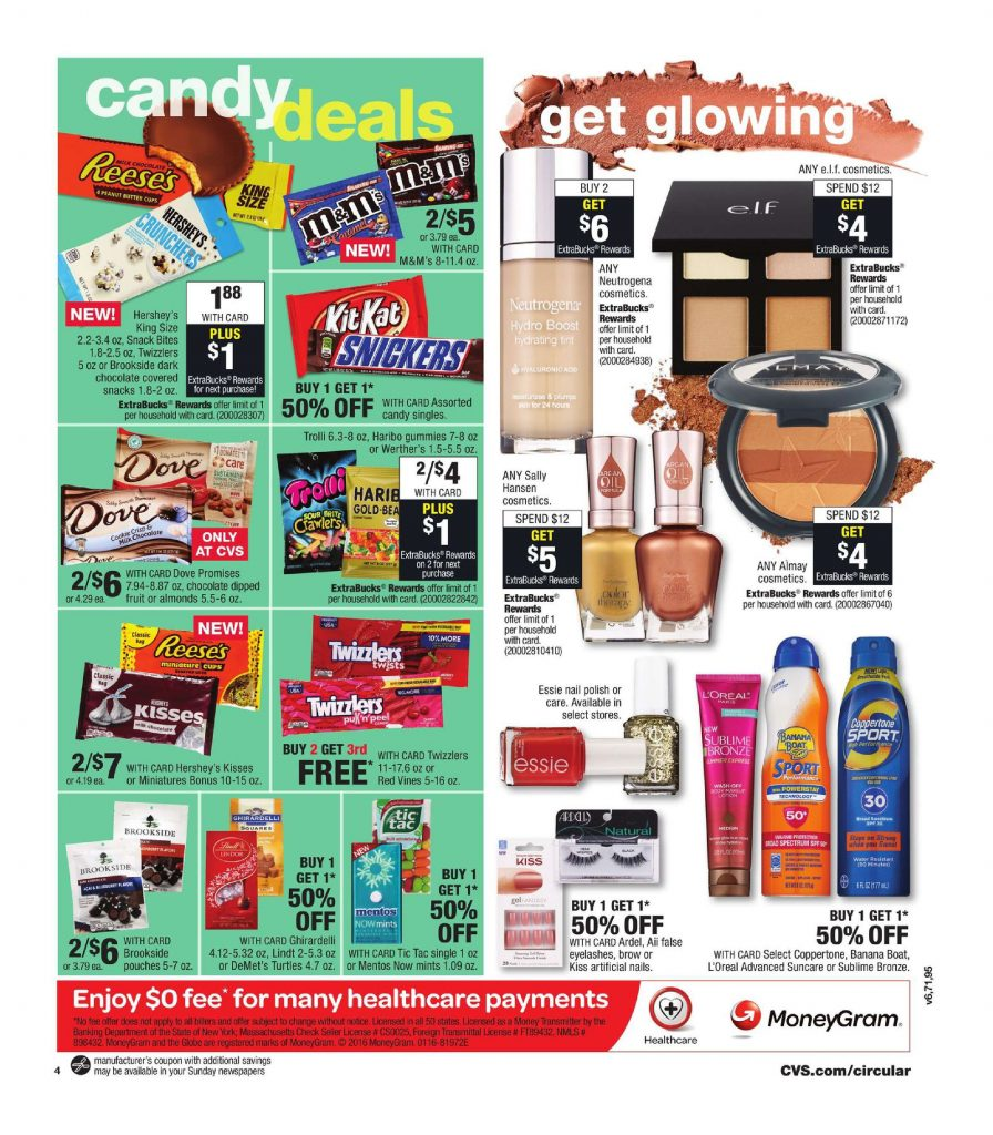 cvs weekly ad july 9  u2013 15  2017