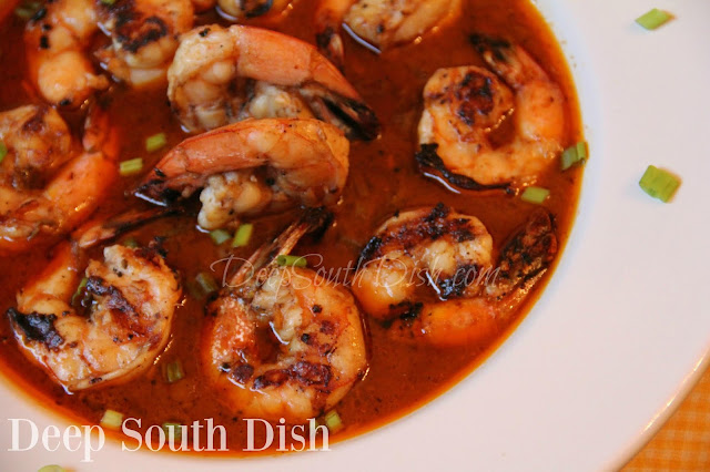 Grilled New Orleans Style Bbq Shrimp