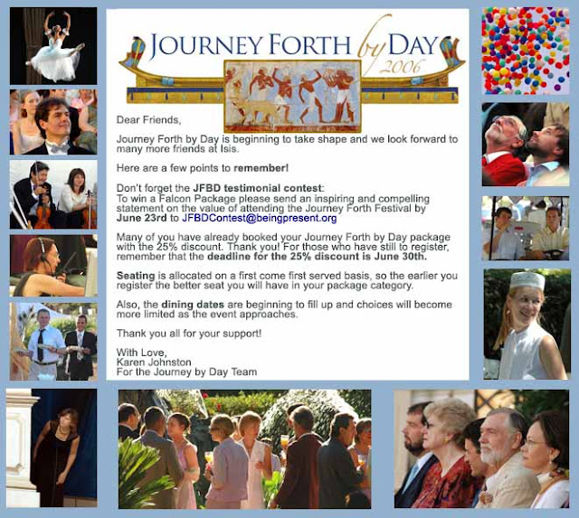 Fellowship of Friends cult Journey Forth by Day fundraising event