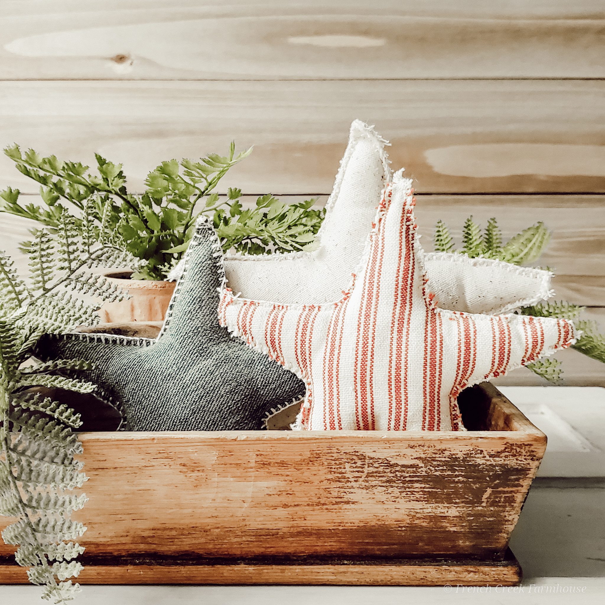 Add a touch of Americana to your farmhouse decor