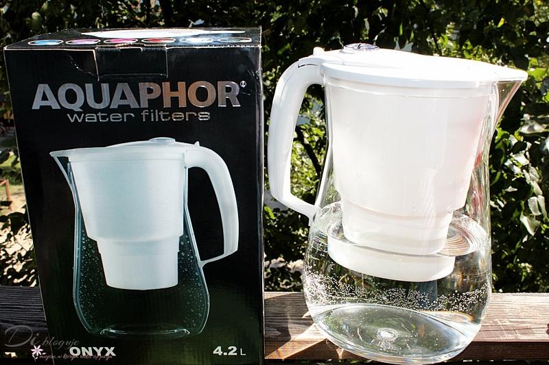 AQAPHOR Onyx, czyli największy dzbanek filtrujący z wkładem B25Mg - recenzja