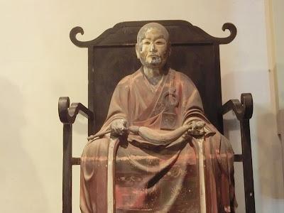 木造智覚禅師坐像