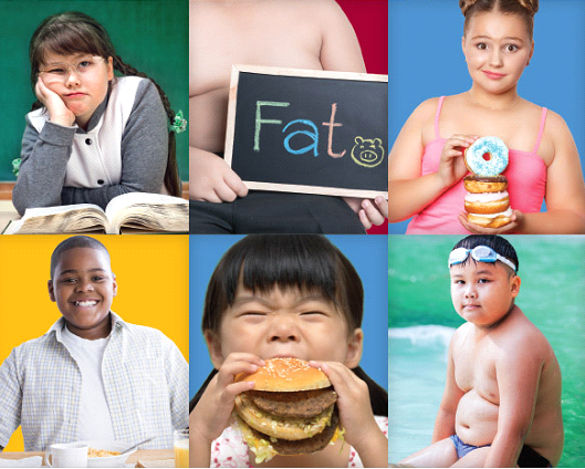 Methods of treating obesity in children .
