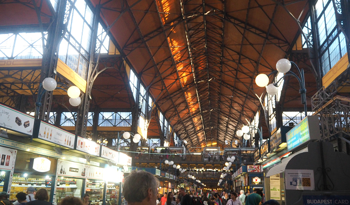 10 things to do in Budapest: Budapest central market