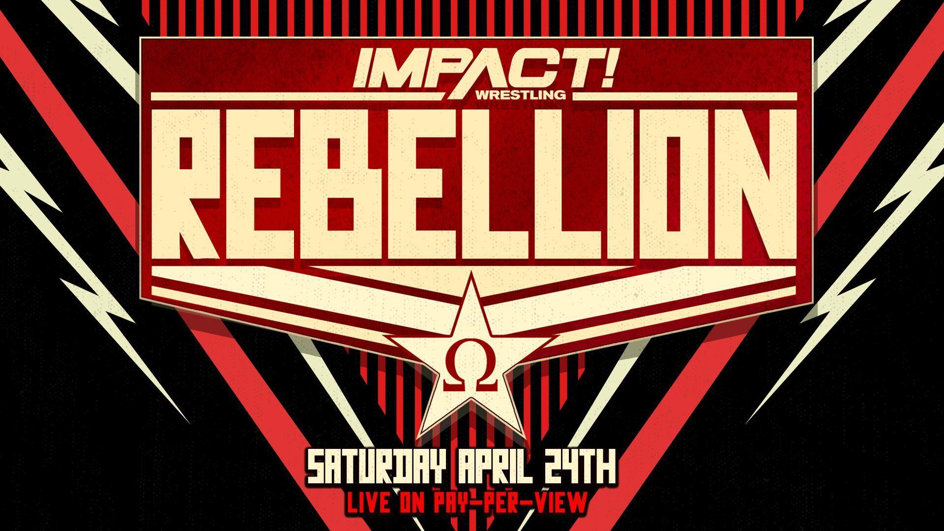 Razão da alteração da data do IMPACT Wrestling Rebellion 2021
