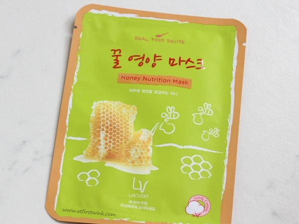 Lacvert Real Food Recipe Honey Nutrition Mask review