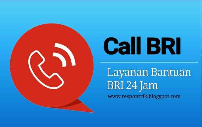 Call Bri No Telepon Formulir Bantuan No Kantor Serta Alamat Bank Bri