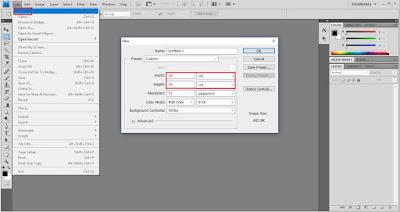 Cara Edit Gambar Untuk Favicon Blog di Photoshop
