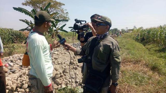 Jurnalisnya TNI Tegal, Publikasikan Seluruh Kegiatan TMMD dan Masyarakat