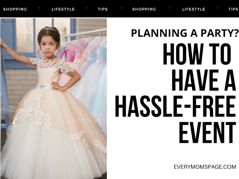 How to Have a Hassle-Free Event
